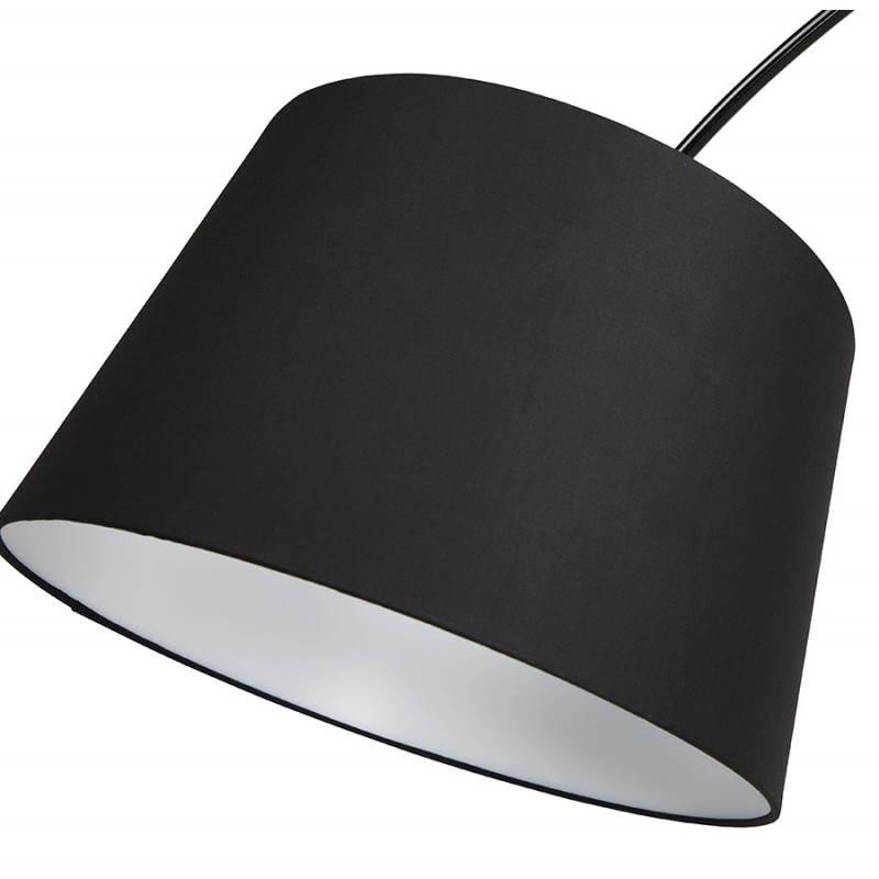 Lampada design tessuto AVERSA (nero) del piede - image 23019
