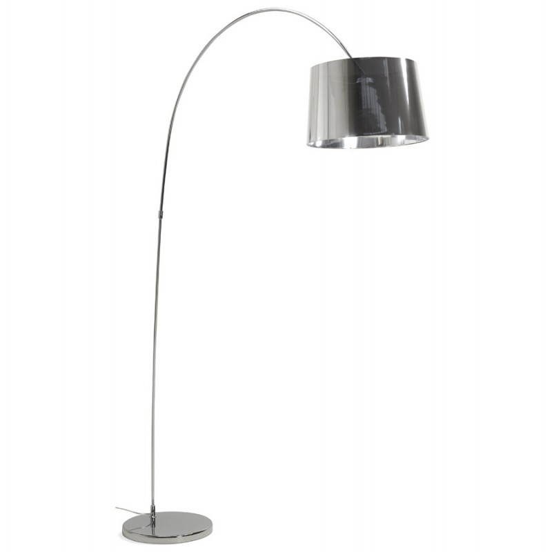 (Chrome) TURIN industrial style floor lamp - image 23027