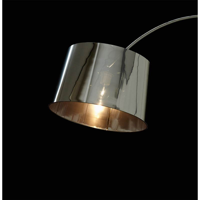 (Chrome) TURIN industrial style floor lamp - image 23040