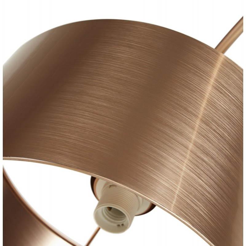 Lampe sur pied de style industriel TURIN (cuivre) - image 23045