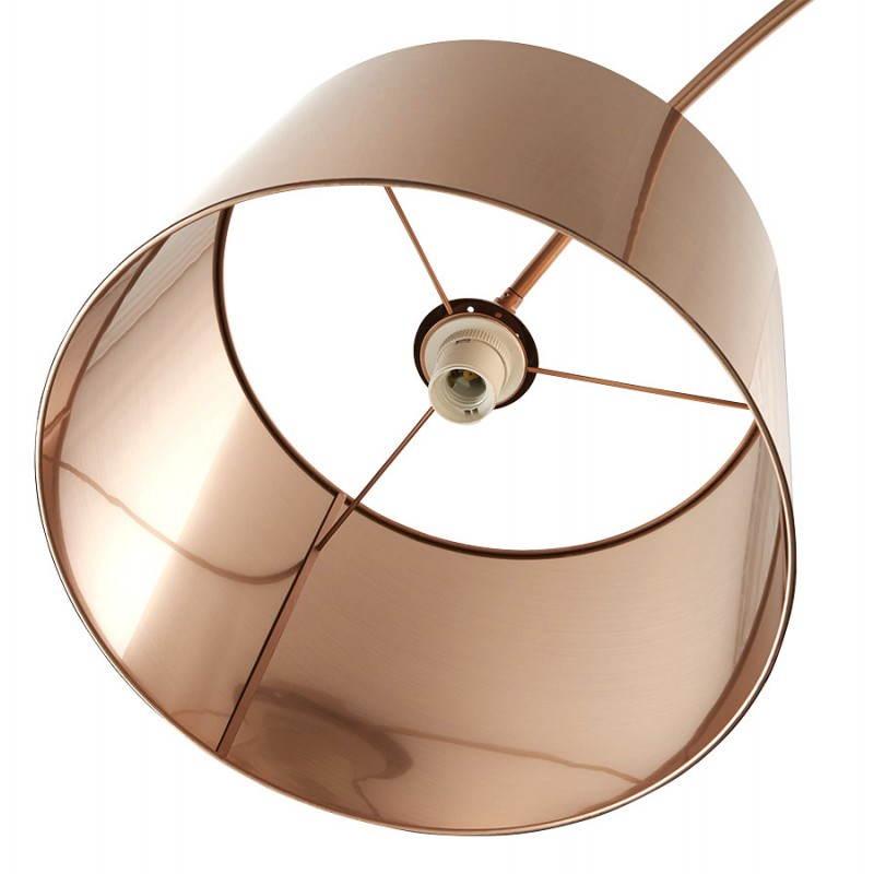 Lampe sur pied de style industriel TURIN (cuivre) - image 23046