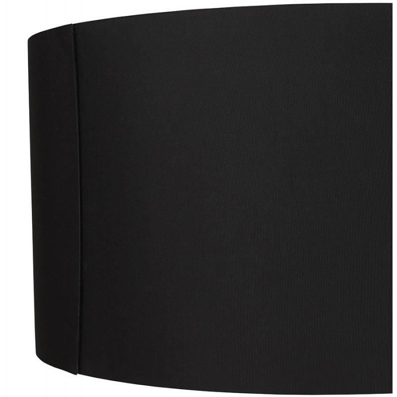 Lampada da terra di tessuto di stile scandinavo TRANI (nero, naturale) - image 23077