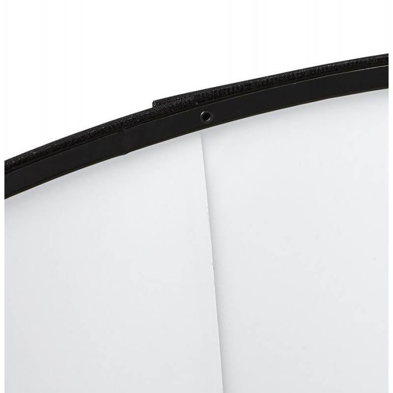 Lampada da terra di tessuto di stile scandinavo TRANI (nero, naturale) - image 23078