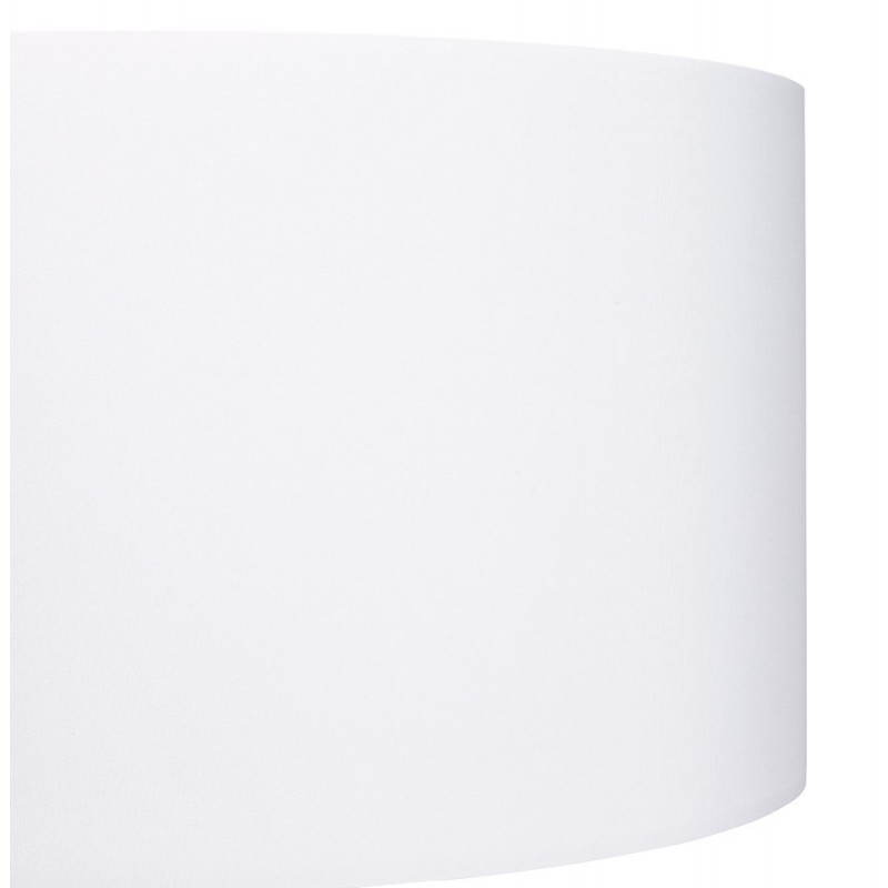 Lampe sur pied de style scandinave TRANI en tissu (blanc) - image 23188