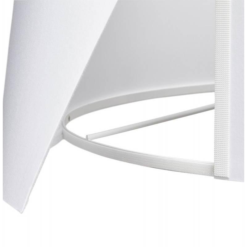 Lampe sur pied de style scandinave TRANI en tissu (blanc) - image 23189
