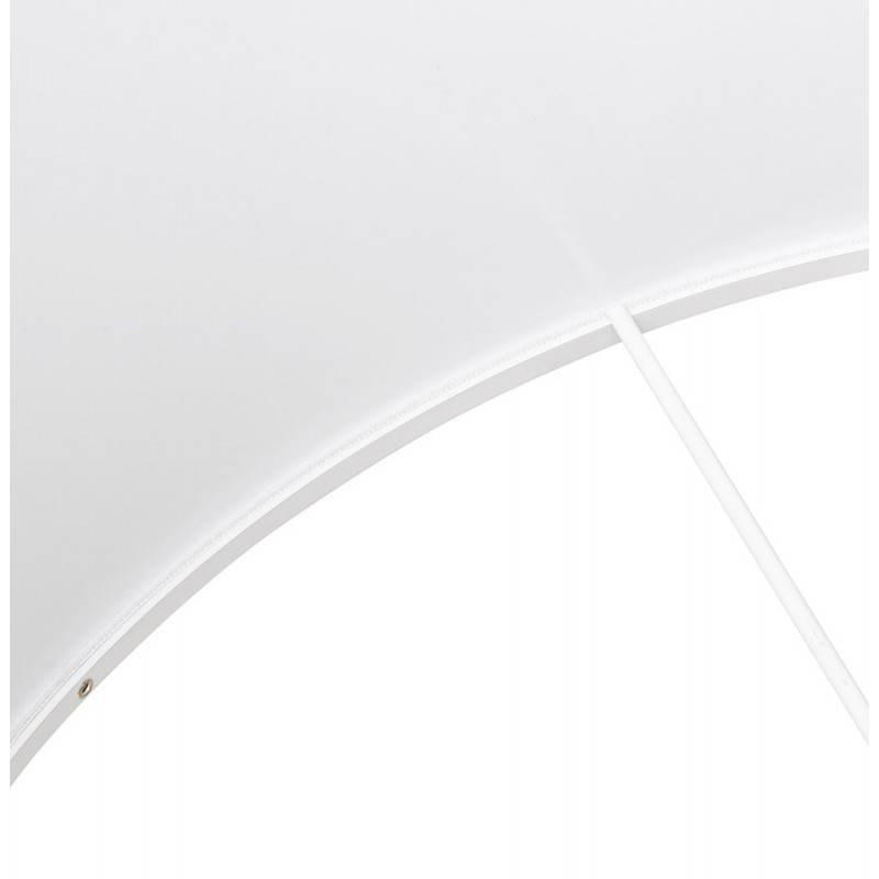 Lampe sur pied de style scandinave TRANI en tissu (blanc) - image 23191