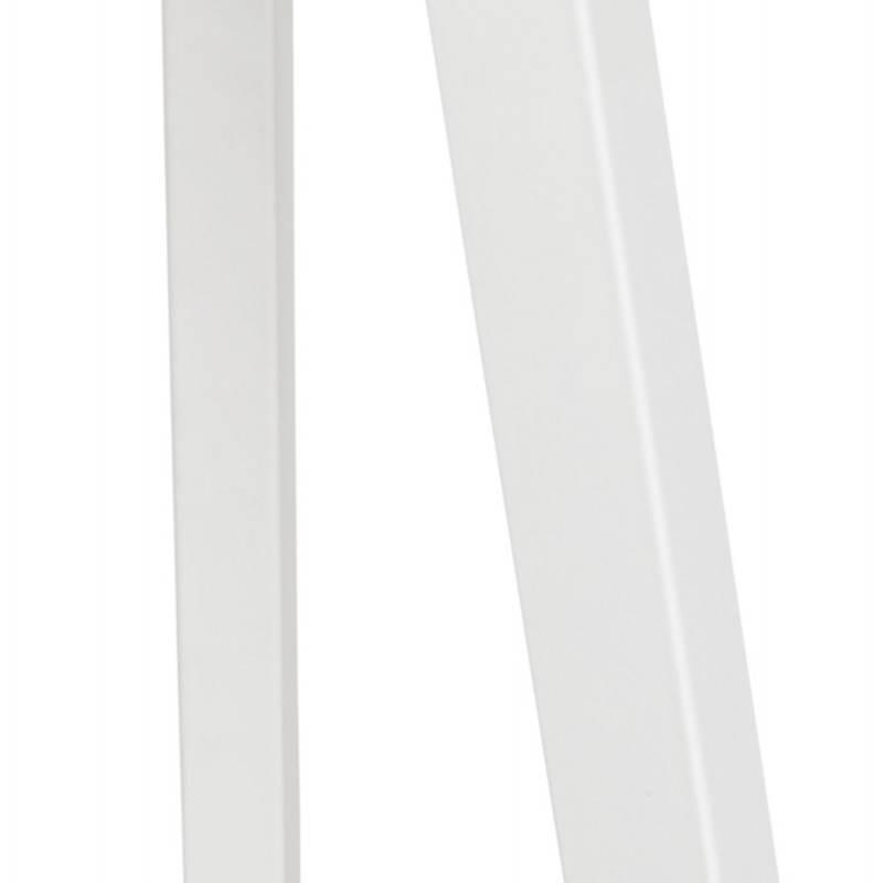 Lampe sur pied de style scandinave TRANI en tissu (blanc) - image 23195