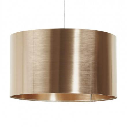 Suspended lamp shape cylindrical LATIN (copper)