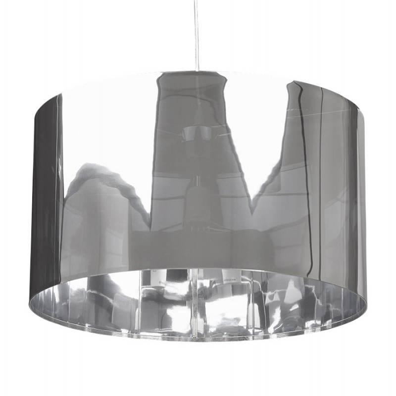 Lampe suspendue forme cylindrique LATIN (chromé) - image 23231