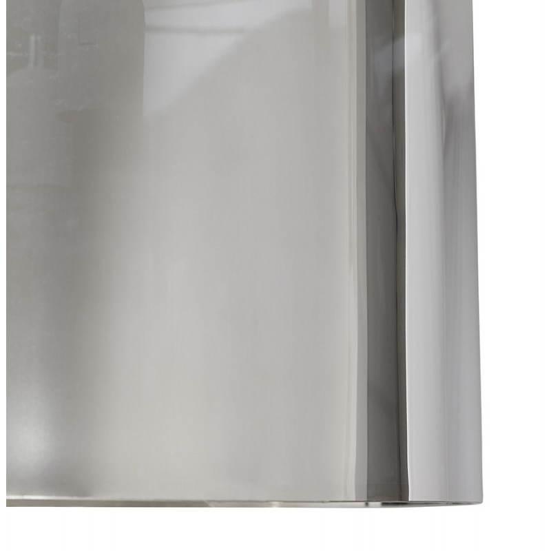 Lampe suspendue forme cylindrique LATIN (chromé) - image 23232