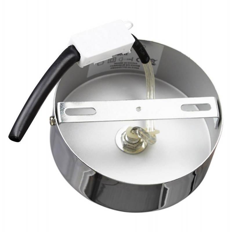 Lampe suspendue rétro et vintage ARA (blanc) - image 23268