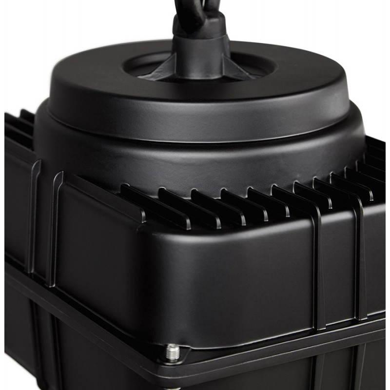Lampe suspendue industrielle SAVONE en métal (noir mat) - image 23287