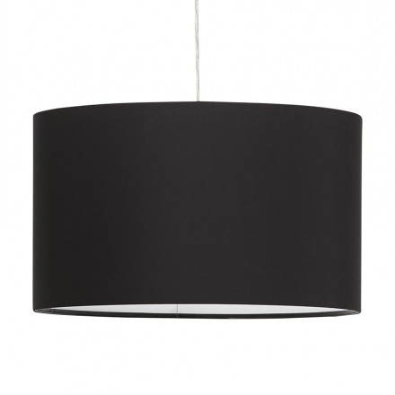 LAZIO suspended lamp (black) fabric