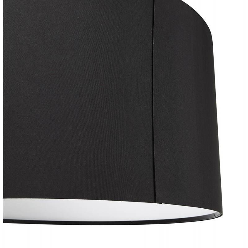 Lampe suspendue LATIUM en tissu (noir) - image 23310