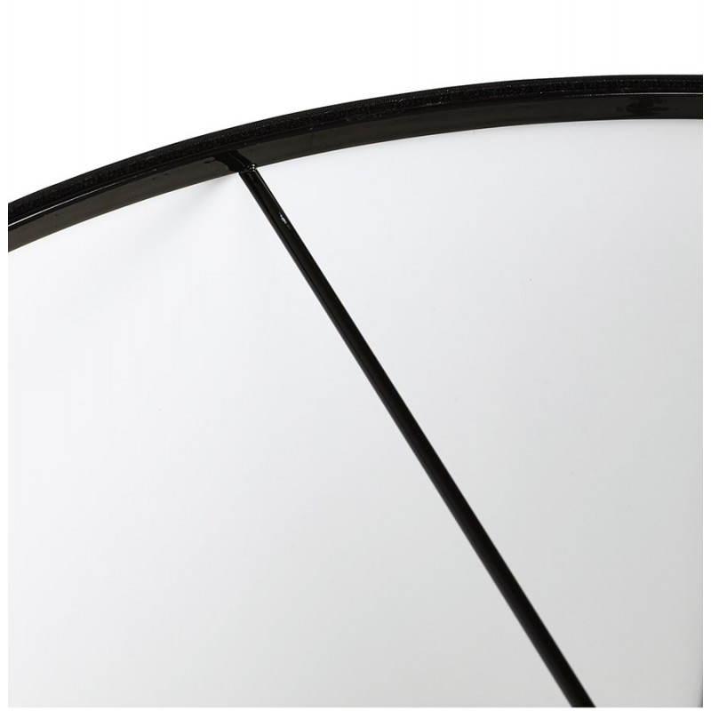 Lampe suspendue LATIUM en tissu (noir) - image 23313
