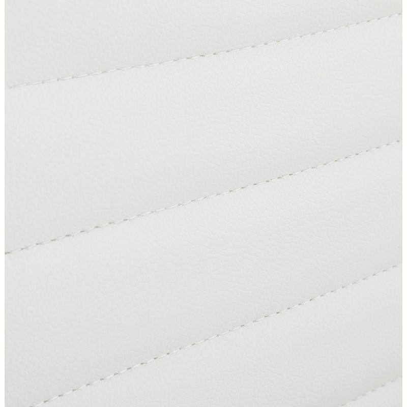 Fauteuil de bureau rotatif AMEN en polyuréthane (blanc) - image 23408