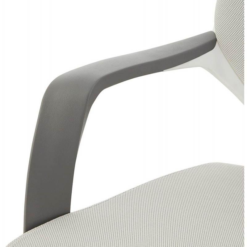 Ergonomic desk RAMY (grey) fabric Chair - image 23562
