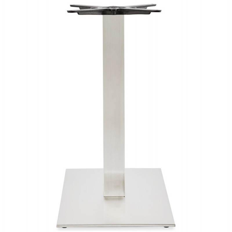 Pied de table POULI en métal brossé (40cmX75cmX75cm) - image 23591