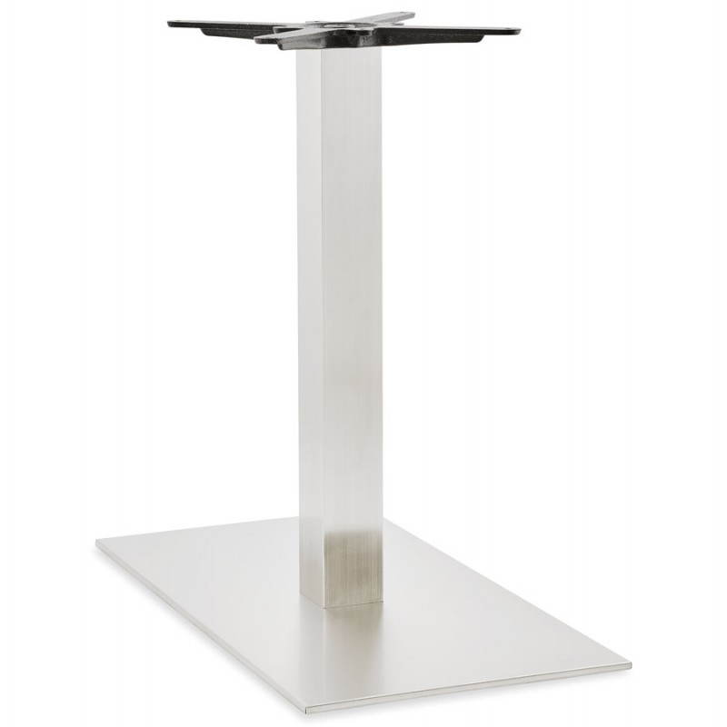 Pied de table POULI en métal brossé (40cmX75cmX75cm) - image 23592
