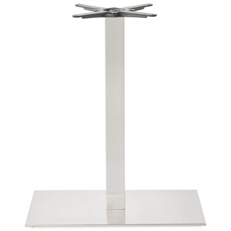 Pied de table POULI en métal brossé (40cmX75cmX90cm) - image 23599