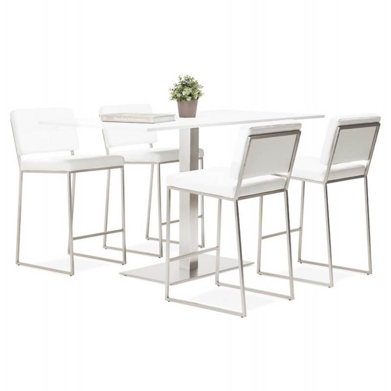 Pied de table POULI en métal brossé (40cmX75cmX90cm) - image 23606