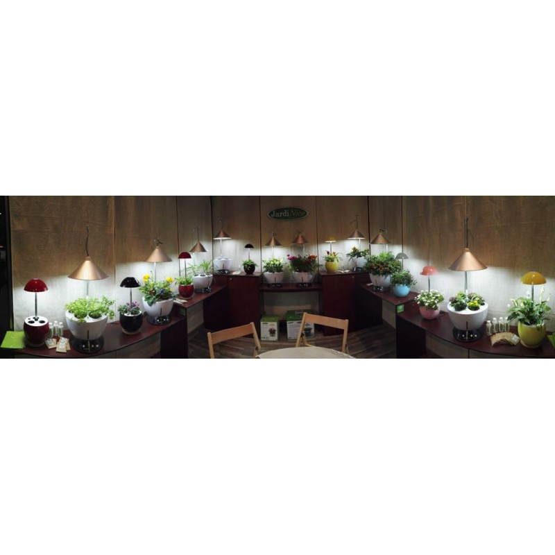 Giardiniere della coltura idroponica per la cultura interna automatica POME (piccolo, nero) - image 23868