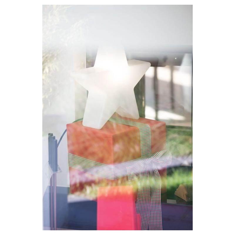 Etoile lumineuse intérieur extérieur DANA (blanc, LED multicolore Ø 60 cm) - image 23977