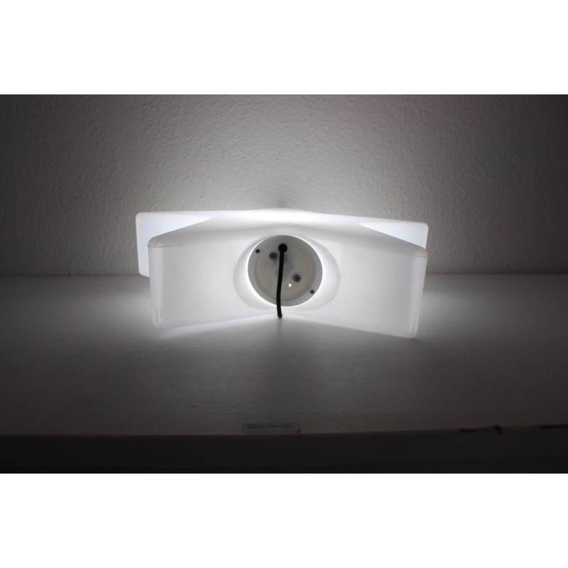 Pot ou vase lumineux rectangulaire intérieur extérieur KIWI (blanc, H 68 cm) - image 24063