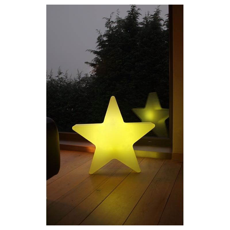 Sterne hell außen innen DANA (weiß, mehrfarbigen LED Ø 40 cm) - image 24313