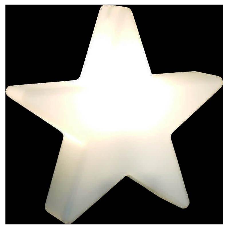 Sterne hell außen innen DANA (weiß, mehrfarbigen LED Ø 40 cm) - image 24316