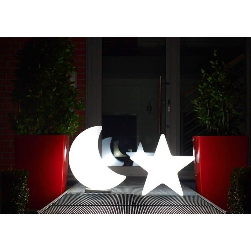 Sterne hell außen innen DANA (weiß, mehrfarbigen LED Ø 40 cm) - image 24317