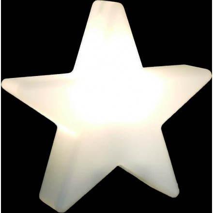Stella esterno luminoso all'interno di DANA (bianco Ø 40 cm)
