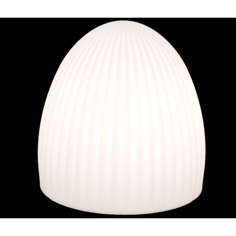 Lamp light outdoor indoor bell white multicolor led for Lampe exterieur a led
