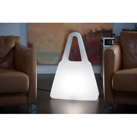 Una mano dentro fuera de la bolsa de lámpara (LED blanco, multicolor)