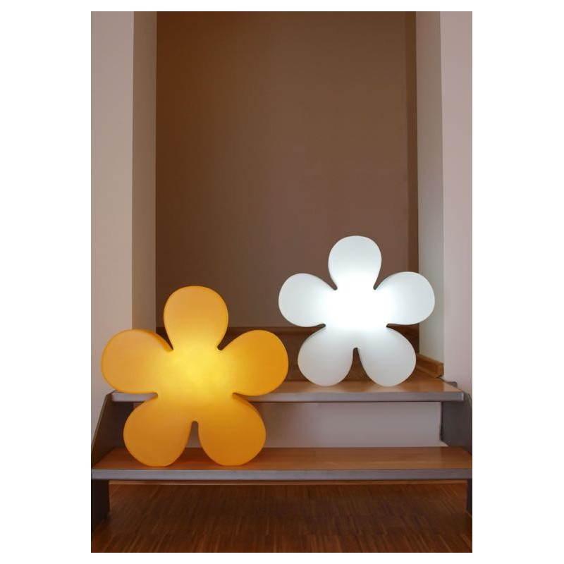 Fleur lumineuse TREFLE intérieur extérieur (jaune Ø 40 cm) - image 24591