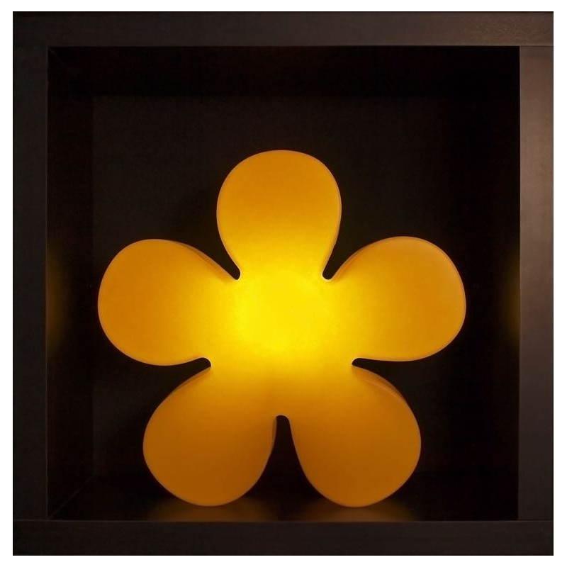 Fleur lumineuse TREFLE intérieur extérieur (jaune Ø 40 cm) - image 24592