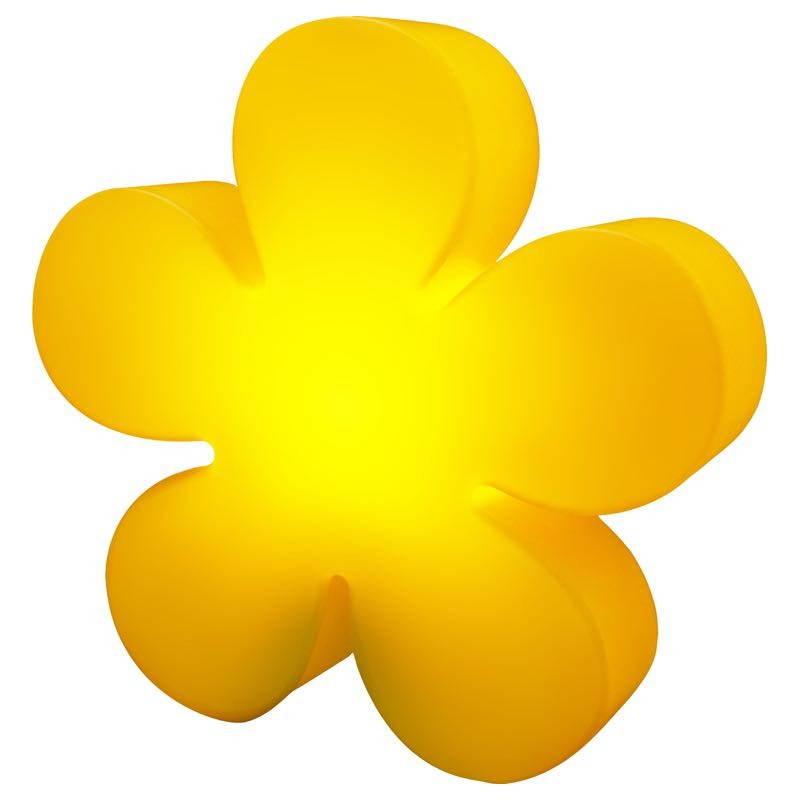 Fleur lumineuse TREFLE intérieur extérieur (jaune Ø 40 cm) - image 24594