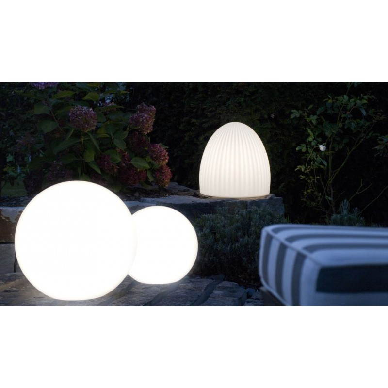 Lampe lumineuse GLOBE intérieur extérieur (blanc, LED multicolore, Ø 30 cm) - image 24641
