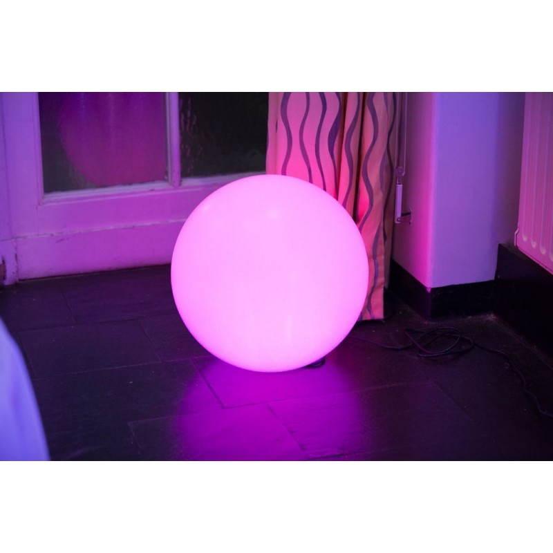 Lampe lumineuse GLOBE intérieur extérieur (blanc, LED multicolore, Ø 30 cm) - image 24644