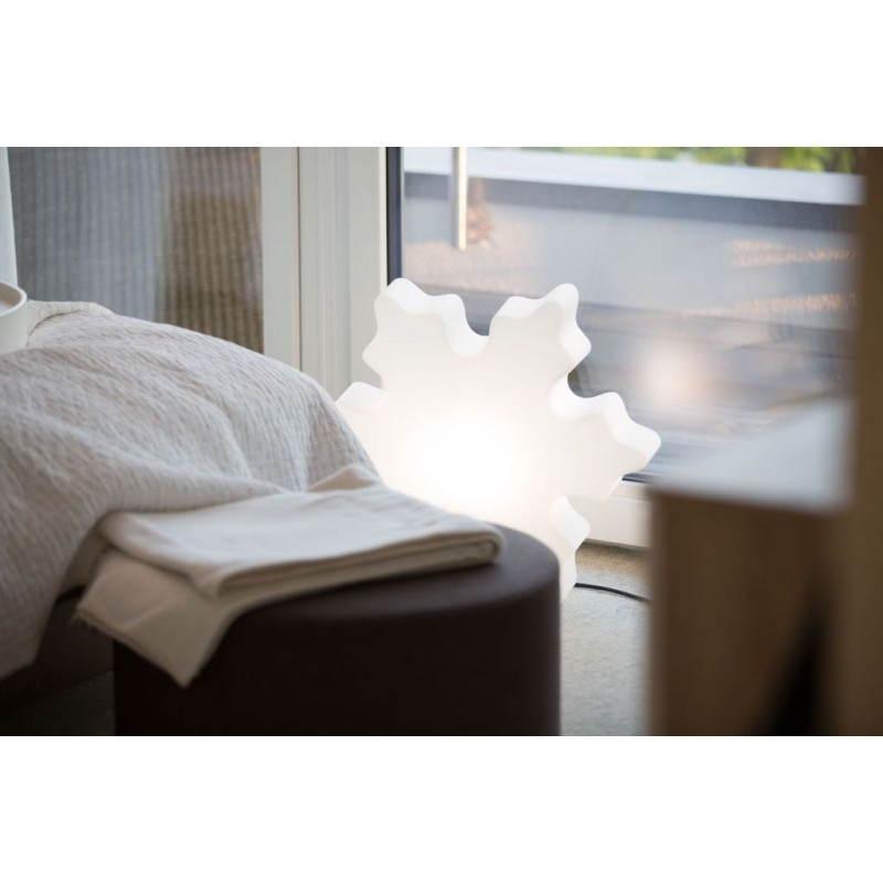 Flocon lumineux neige int rieur ext rieur blanc led - Interieur blanc et lumineux ...