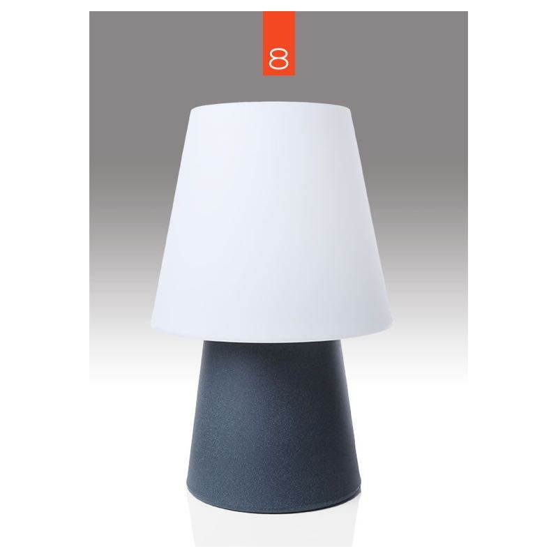 Lampada da tavolo luce MIMA coperta all'aperto (antracite, H 60 cm) - image 24855