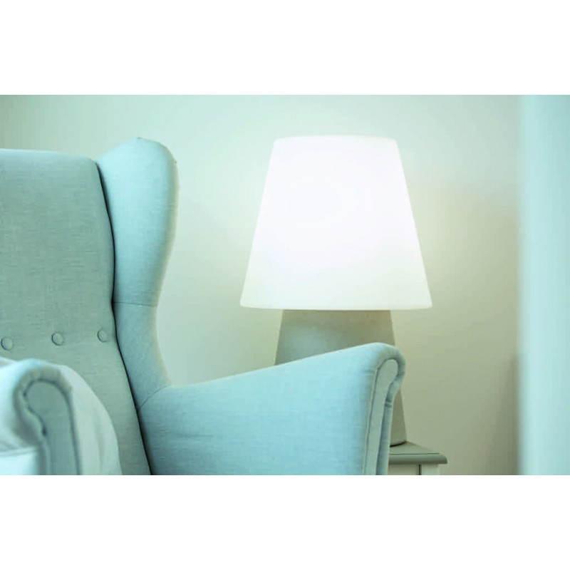 Lámpara de mesa de luz MIMA interior LED al aire libre (gris, multicolor, H 60 cm) - image 24914