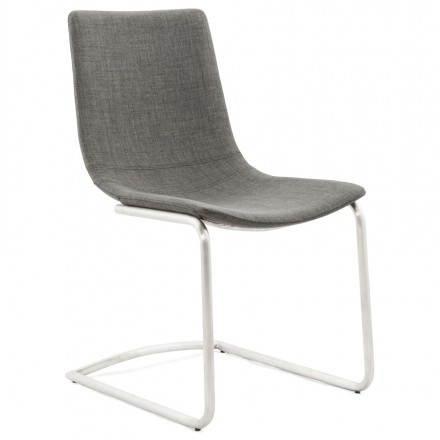 Diseño de silla y textil moderna de RIMINI (gris)