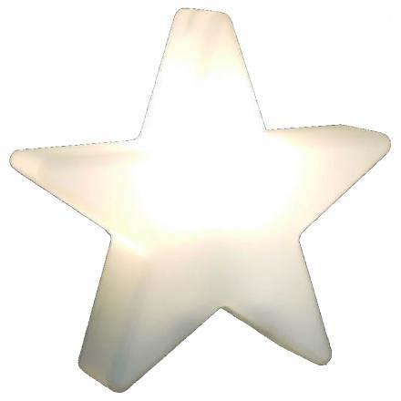 Stella esterno luminoso all'interno di DANA (bianco, multicolor LED Ø 40 cm)
