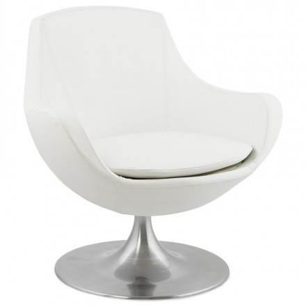 Sessel Dreh Design ROMAN 360 (weiß)