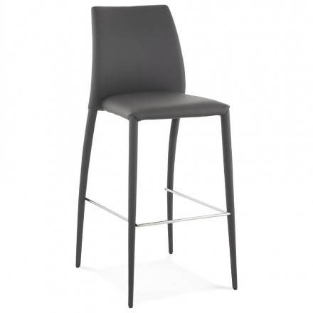 Design bar stool BARBY (dark grey)