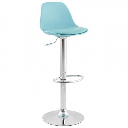 Stool design bar and compact ROBIN (blue)
