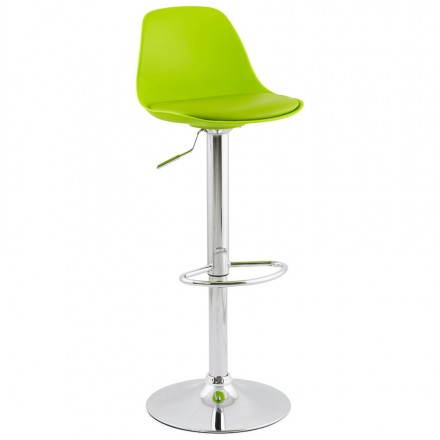 Design bar stool and compact ROBIN (green)