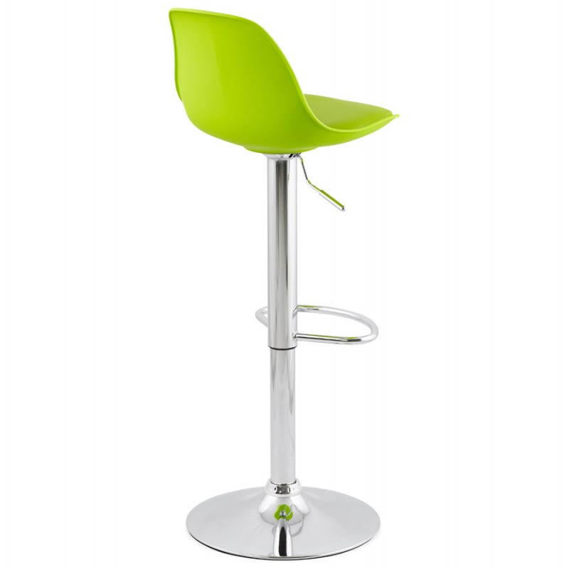 tabouret de bar design et compact robin vert. Black Bedroom Furniture Sets. Home Design Ideas
