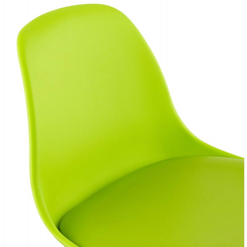 Design bar stool and compact ROBIN (green) - image 25331
